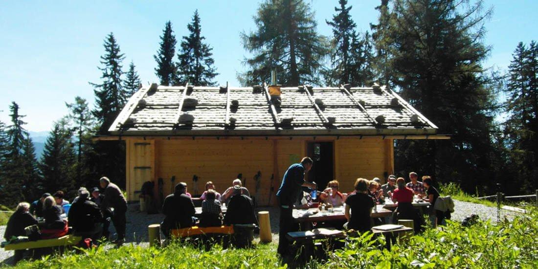Our alpine hut
