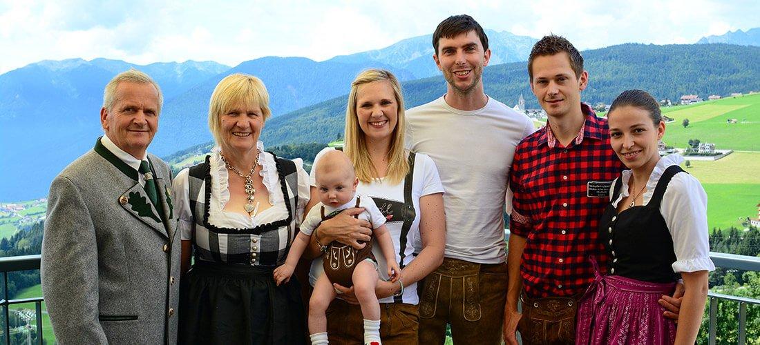 Pfeiferhof - Familie Unterkircher aus Meransen
